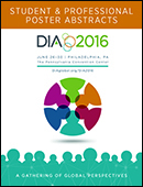 DIA 2016 Student & Professional Poster Abstracts