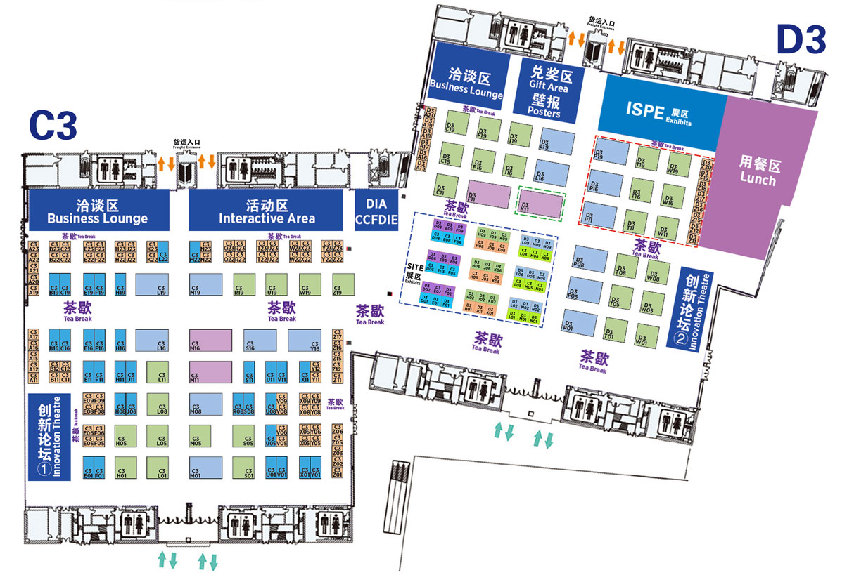Dia China 2021 View Floor Plan