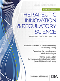 Therapeutic Innovation & Regulatory Science (TIRS)