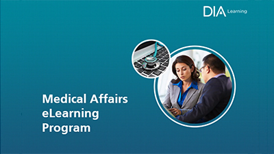 DIA Medical Affairs eLearning Program